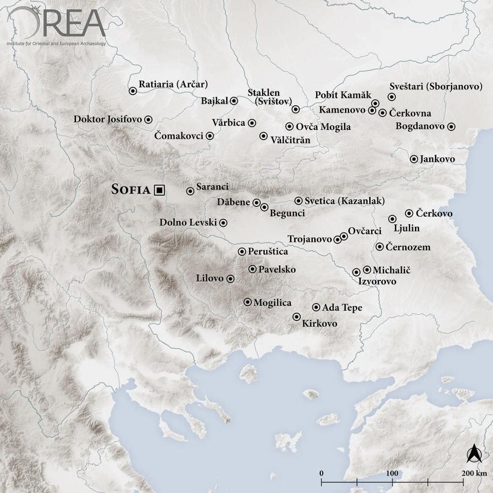 Landkarte Ada Tepe © Orea