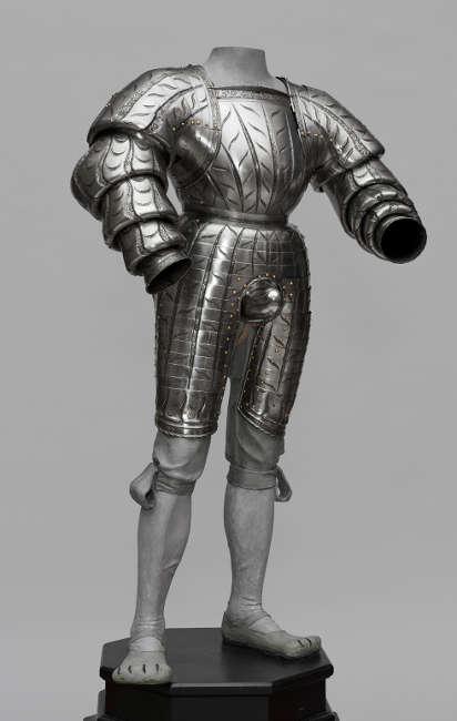 Landsknechtsharnisch für Wilhelm von Rogendorf, Kolman Helmschmid, Augsburg, 1523 (Kunsthistorisches Museum, Hofjagd- und Rüstkammer © KHM-Museumsverband)