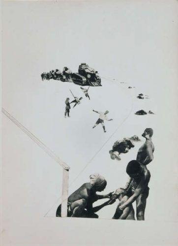 László Moholy-Nagy, Militarismus, 1924/1940 (Museum Ludwig, Köln)