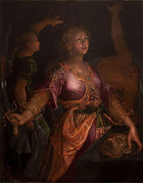 Lavinia Fontana, Judith und Holofernes, um 1595, Öl/Lw (Fondazione di culto e religione Ritiro San Pellegrino, Bologna)