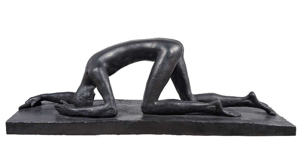 Wilhelm Lehmbruck, Der Gestürzte, 1915 (Wilhelm Lehmbruck Museum, Duisburg)
