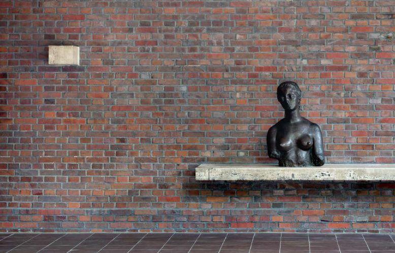 Krefeld, Haus Lange, Lehmbruck-Kolbe-Mies van der Rohe