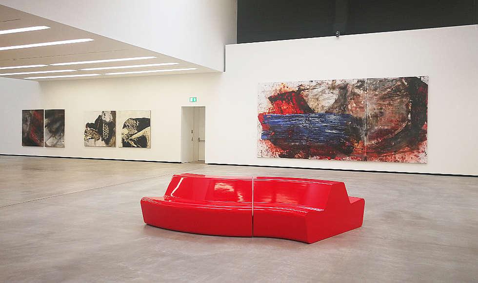 Lena Göbel -Maria Moser, Ausstellungsansicht Museum Angerlehner 2019, Foto: Alexandra Matzner | ARTinWORDS