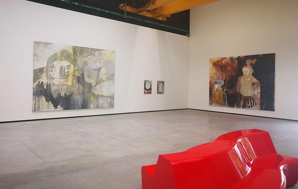Lena Göbel, Ausstellungsansicht im Museum Angerlehner 2019, Foto: Alexandra Matzner | ARTinWORDS