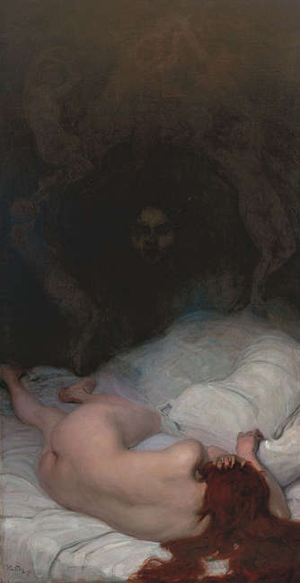 Leo Putz, Vanitas, 1896 (Sammlung Siegfried Unterberger © Sammlung Siegfried Unterberger)