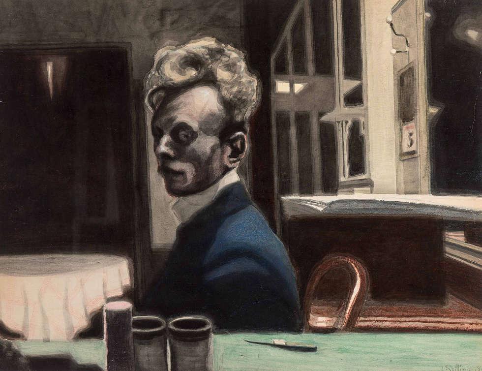 Léon Spilliaert, Selbstporträt, 3. November 1908