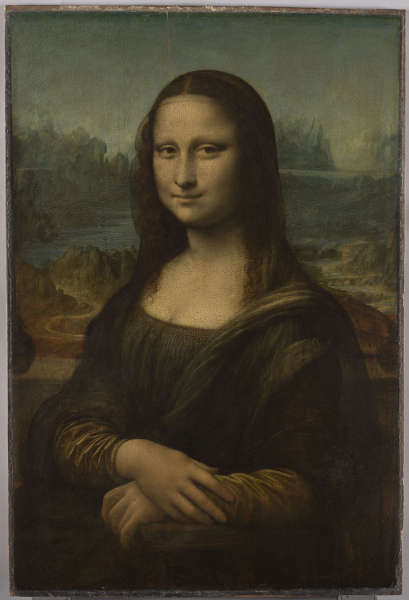 Leonardo da Vinci, Mona Lisa (RMN-Grand Palais, Musée du Louvre, Foto MichelUrtado)