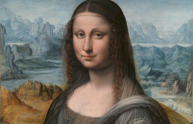Leonardo da Vinci-Werkstatt, Mona Lisa, Detail, 1507/8–1513/16, Öl/Holz, 76.3 x 57 cm (Museo Nacional del Prado, Madrid)