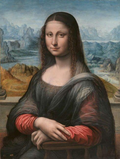 Leonardo da Vinci-Werkstatt, Mona Lisa, 1507/8–1513/16, Öl/Holz, 76.3 x 57 cm (Museo Nacional del Prado, Madrid)