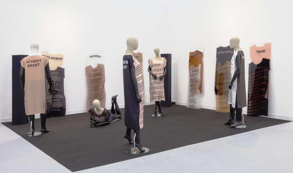 Lili Reynaud-Dewar in der Galerie Emanuel Layr, Abteilung Focus © & Foto: courtesy Künstlerin und Galerie
