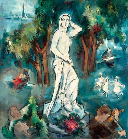 Lilly Steiner, Donauweibchen, 1934, Öl auf Leinwand (Inv. Nr. 42825, Artothek des Bundes, Foto: Belvedere, Wien, Johannes Stoll)