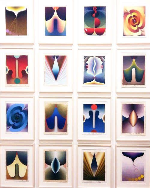 Loie Hallowell bei Pace Gallery, London © Künstler und Galerie, Foto: Eva Pakisch