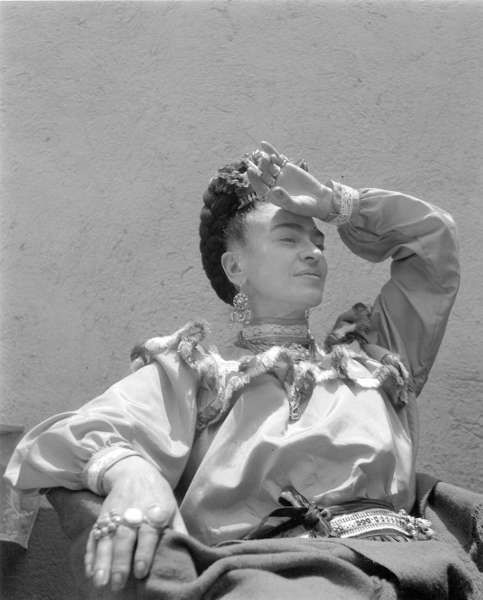 Lola Álvarez Bravo, Frida Kahlo, Mexico, ca. 1945, © Center for Creative Photography, Part of The University of Arizona