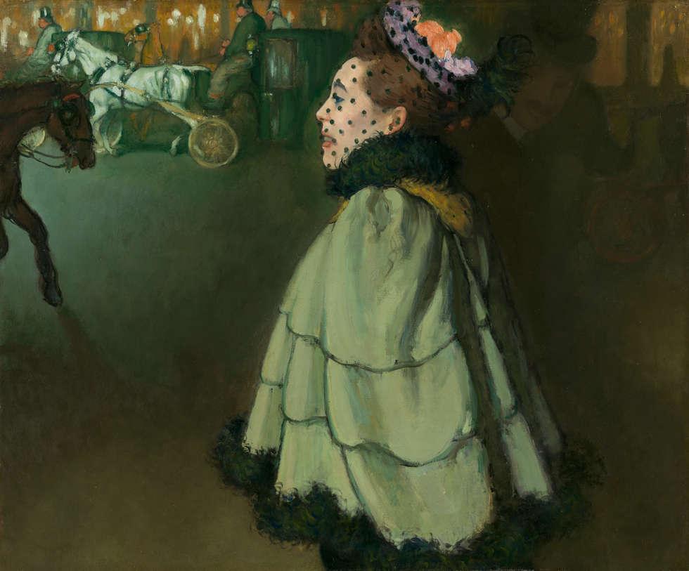 Louis Anquetin, Femme sur les Champs-Élysées, la nuit, 1890/91, Öl/Lw, 83,2 x 100 cm (Van Gogh Museum, Amsterdam, Erworben mit Unterstützung der BankGiro Loterij und der Rembrandt Association, mit zusätzlicher Unterstützung des Prins Bernard Cultuurfonds und der VSB foundation)
