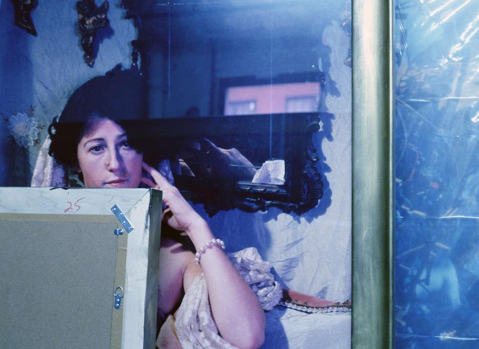 Louise Lawler, CS #204, 1990, Cibachrome © Courtesy Louise Lawler und Metro Pictures, New York / SAMMLUNG VERBUND, Wien