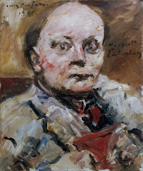 Lovis Corinth, Herbert Eulenberg, 1924, Öl/Lw, 60 x 50 cm (Belvedere, Wien)