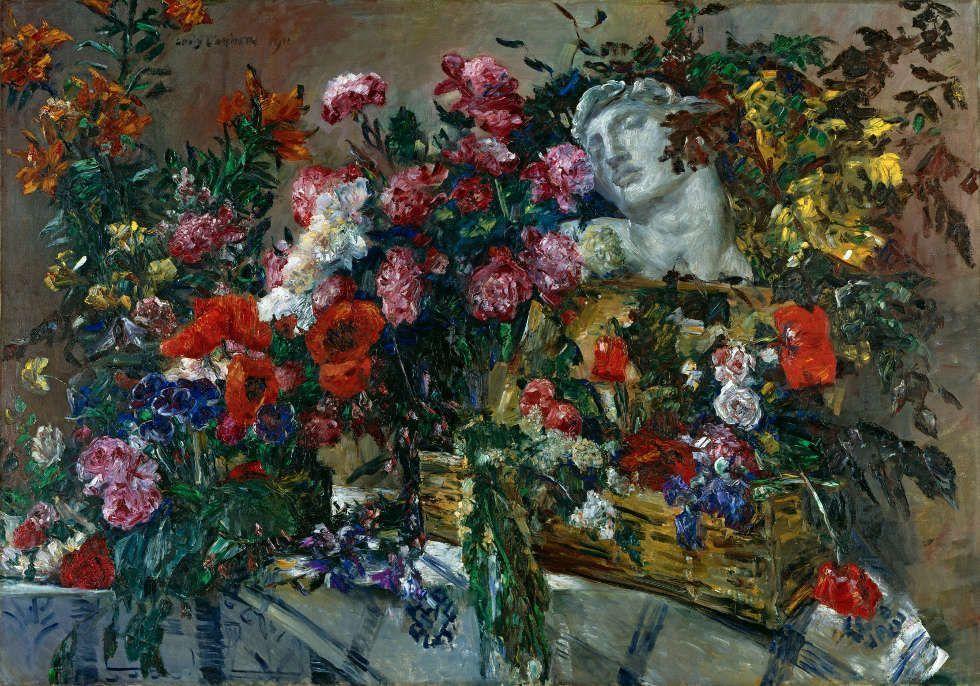Lovis Corinth, Hymnus an Michelangelo, 1911 (Städtische Galerie im Lenbachhaus und Kunstbau München, Dauerleihgabe der BayernLB, Foto: Lenbachhaus)