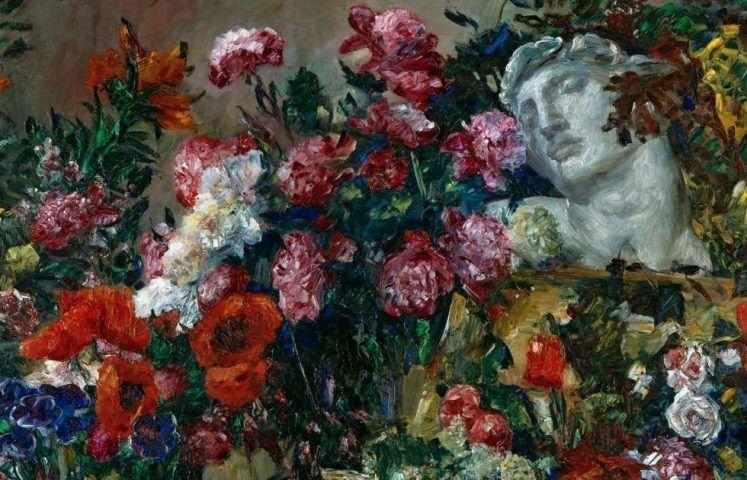 Lovis Corinth, Hymnus an Michelangelo, Detail, 1911 (Städtische Galerie im Lenbachhaus und Kunstbau München, Dauerleihgabe der BayernLB, Foto: Lenbachhaus)