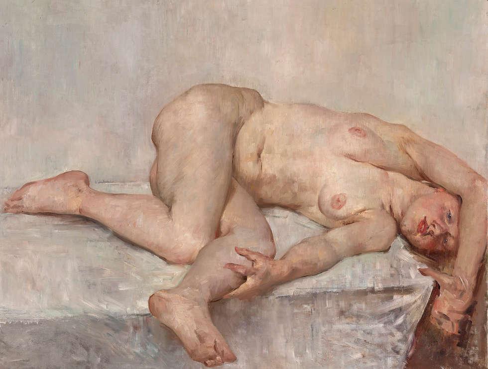 Lovis Corinth, Liegender weiblicher Akt, 1907 (© Belvedere, Wien, Foto: Johannes Stoll)