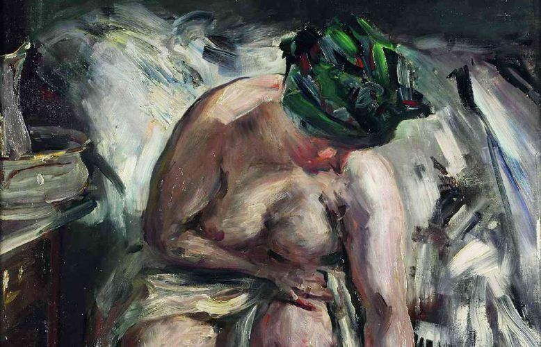 Lovis Corinth, Matinée, Detail, 1905, Öl/Lw, 74,3 × 62,2 cm (Saarlandmuseum – Moderne Galerie Saarbrücken, Stiftung Saarländischer Kulturbesitz, Foto: Raphael Maaß / Stiftung Saarländischer Kulturbesitz)