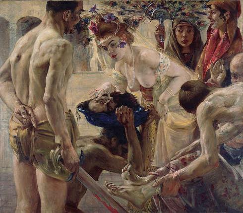 Lovis Corinth, Salome II, 1900 (Museum der bildenden Künste Leipzig © bpk I Museum der bildenden Künste Leipzig I Ursula Gerstenberger)