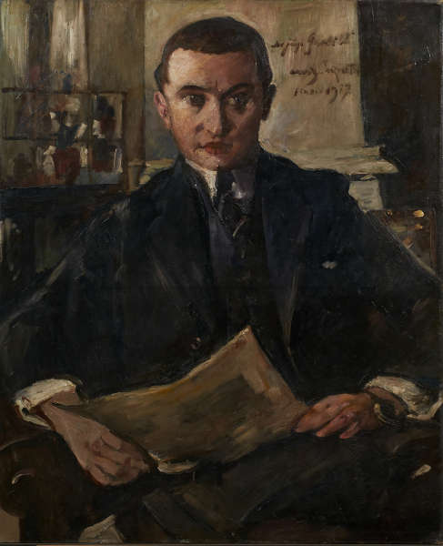 Lovis Corinth, Wolfgang Gurlitt, 1917 (LENTOS Kunstmuseum Linz)