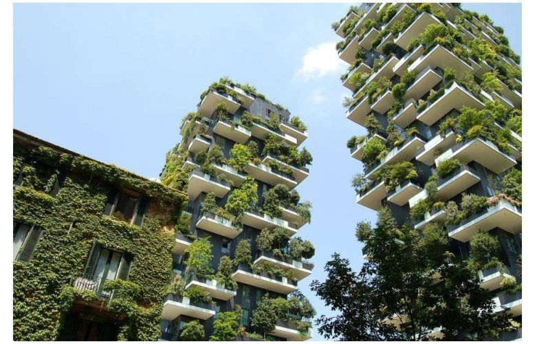 Mailand, Bosco verticale, geplant von Stefano Boeri und seinen Partnern des Architekturbüros Boeri Studio, Gianandrea Barreca und Giovanni La Varra