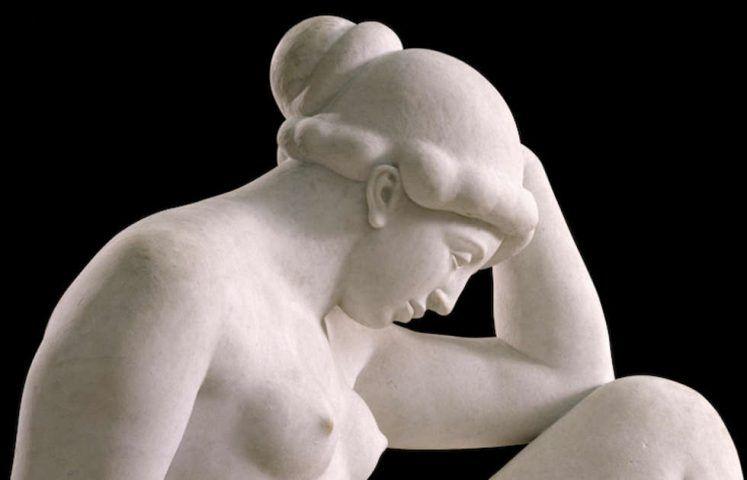 Aristide Maillol, Méditerranée oder La Pensée [Das Mittelmeer oder Der Gedanke], Detail, 1923–1927 (Musée d'Orsay, 1977 ©RMN-Grand Palais (Musée d'Orsay) / Thierry Ollivier)