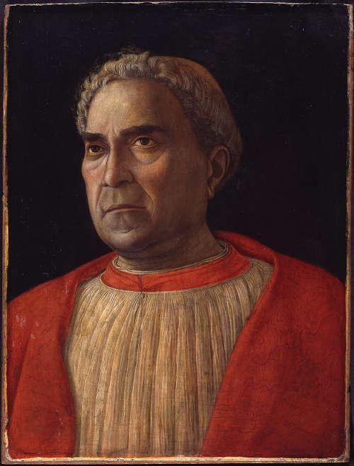 Andrea Mantegna, Kardinal Lodovico Trevisano, 1459–1560, Öl/Pappel, 45.5 x 34.8 cm (Gemäldegalerie, Berlin © Gemäldegalerie der Staatlichen Museen zu Berlin - Preußischer Kulturbesitz / photo: Jörg P. Anders)