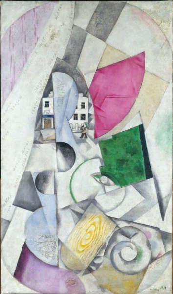 Marc Chagall Ich Und Das Dorf Bilder Aus Paris Und Witebsk