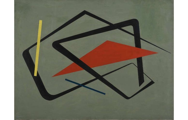 María Freire, Untitled, 1954, Öl/Lw, 92 × 122 cm (The Museum of Modern Art, New York. Promised gift of Patricia Phelps de Cisneros through the Latin American and Caribbean Fund in honor of Gabriel Pérez-Barreiro, 2016)