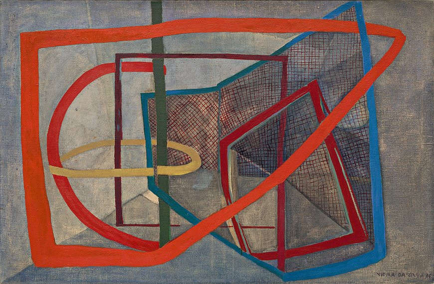 Maria Helena Vieira da Silva, Komposition, 1936 (Solomon Guggenheim Museum, New York)