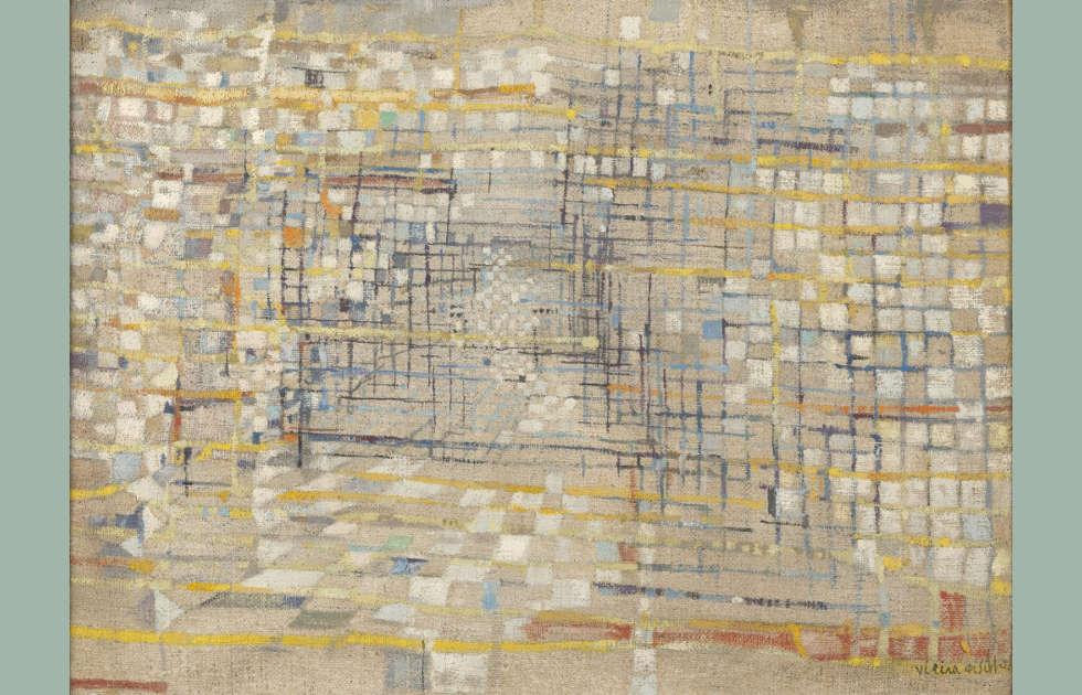 Maria Helena Vieira da Silva, Ohne Titel (oder Der Gulli), 1952