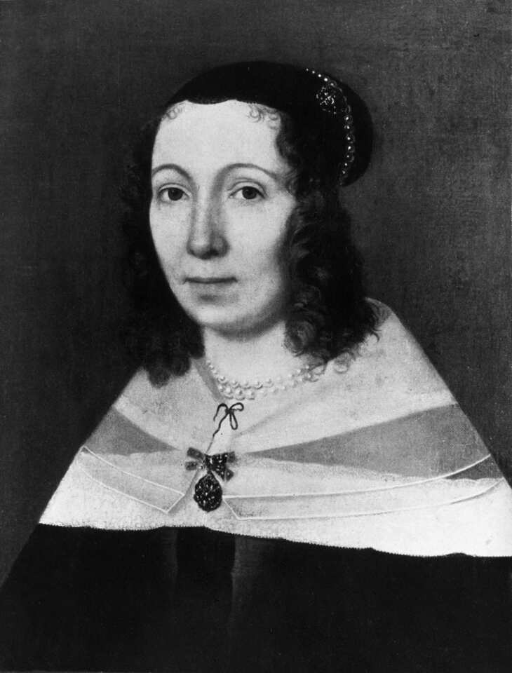 Maria Sibylla Merian, Portrait, Gemälde (o.J.), Foto: bpk