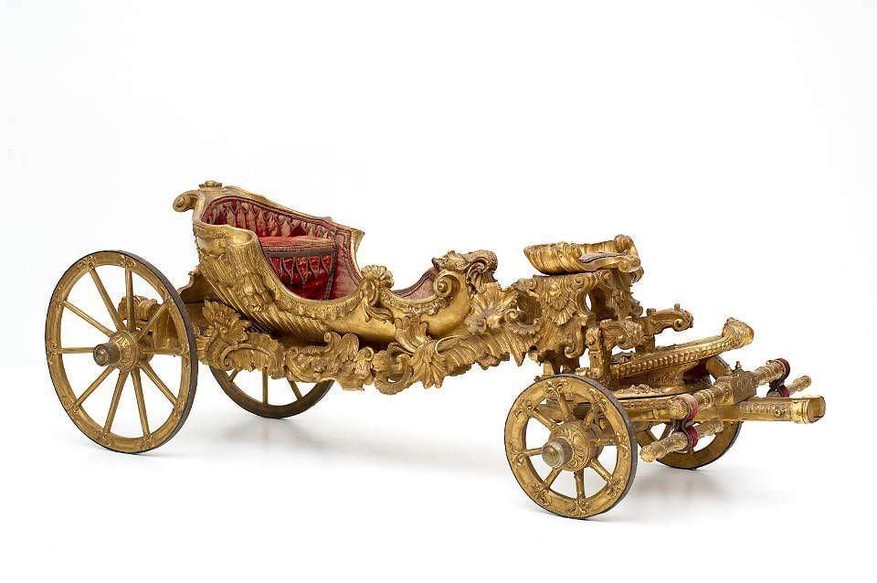 Karussellwagen Maria Theresias. Wien, um 1742 (© KHM, Kaiserliche Wagenburg Wien)