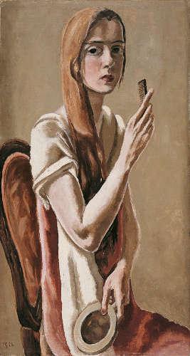 Marie-Louise von Motesiczky, Selbstbildnis, 1926 (© Belvedere, Wien)