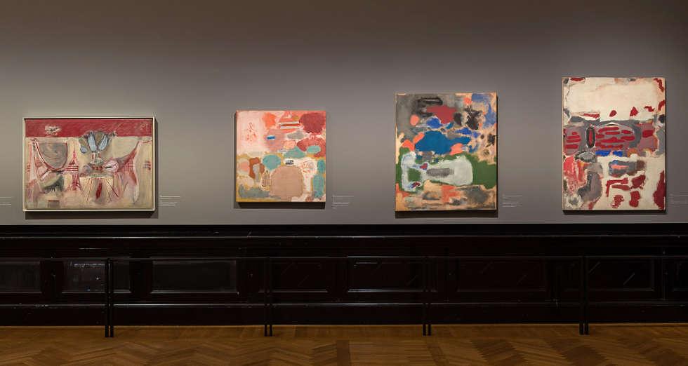 Mark Rothko, Multiforms, Ausstellungsansicht KHM 2019 (© 1998 Kate Rothko Prizel & Christopher Rothko/Bildrecht, Wien, 2019, Foto: KHM-Museumsverband)