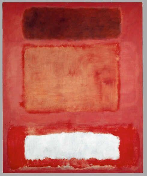 Mark Rothko, No. 16 (Red, White and Brown), 1957, Öl auf Leinwand, 252,2 × 207 cm (© 1998 Kate Rothko Prizel & Christopher Rothko/Bildrecht, Wien, 2019, © Foto: Kunstmuseum Basel)
