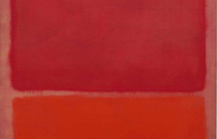 Mark Rothko, Ohne Titel (Rot, Orange), Detail, 1968, Öl/Lw, 193 × 175 cm (Fondation Beyeler, Riehen/Basel, Sammlung Beyeler, Foto: Robert Bayer)