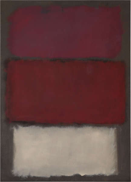 Mark Rothko, Untitled, 1960 (ehem SFMOA, Privatbesitz)