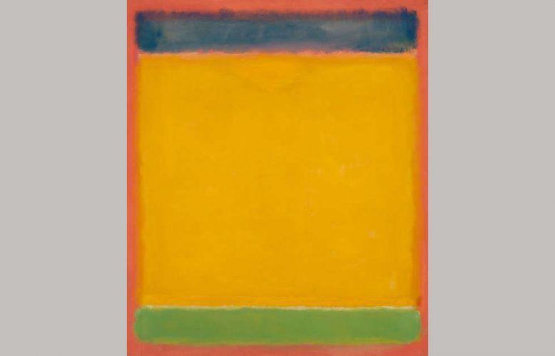 Mark Rothko, Untitled (Blue, Yellow, Green on Red), 1954 (Museum Barberini, Potsdam)
