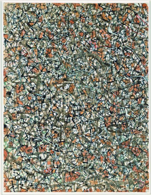 Mark Tobey, Advance of History, 1964