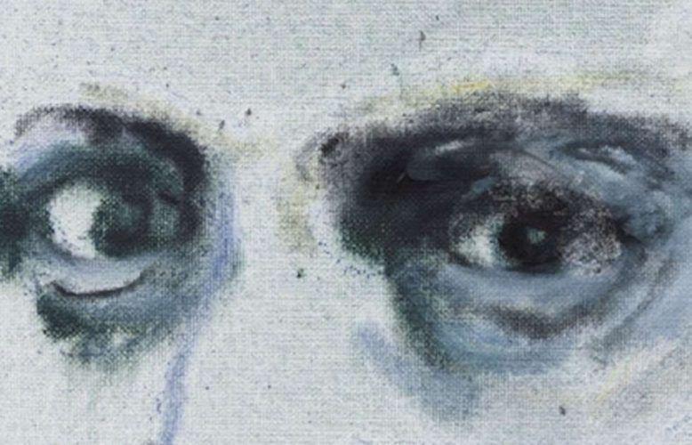 Marlene Dumas, Charles Baudelaire, Detail, 2020 (© Courtesy Zeno X Gallery)