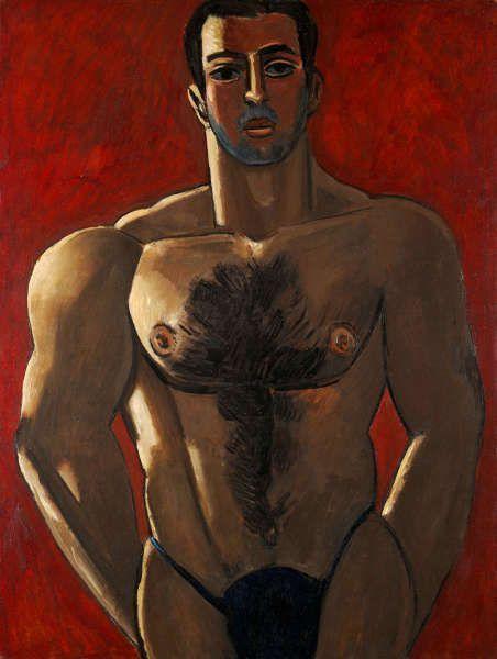 Marsden Hartley, Madawaska - Acadian Light-Heavy, 1940, Öl/Karton, 101.6 × 76.2 cm (The Art Institute of Chicago. Bequest of A. James Speyer, 1987 / Scala)