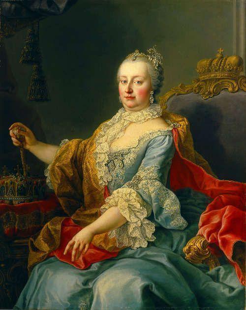 Martin van Meytens, Bildnis von Maria Theresia als Königin von Ungarn, 1759, Öl auf Leinwand © Gemäldegalerie der Akademie der bildenden Künste Wien