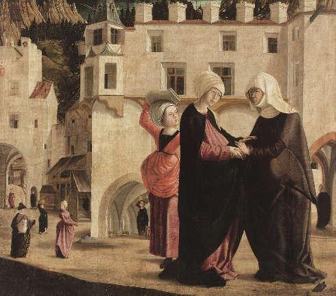 Marx Reichlich, Heimsuchung, 1502 (© Belvedere, Wien)