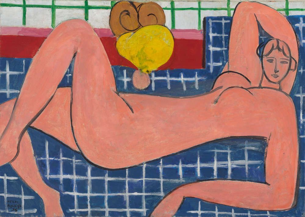 Henri Matisse, Großer liegender Akt [Grand Nu couché], 1935, Öl auf Leinwand, 66,4 x 93,3 cm (Baltimore Museum of Art © Succession H. Matisse / VG Bild-Kunst, Bonn 2016)