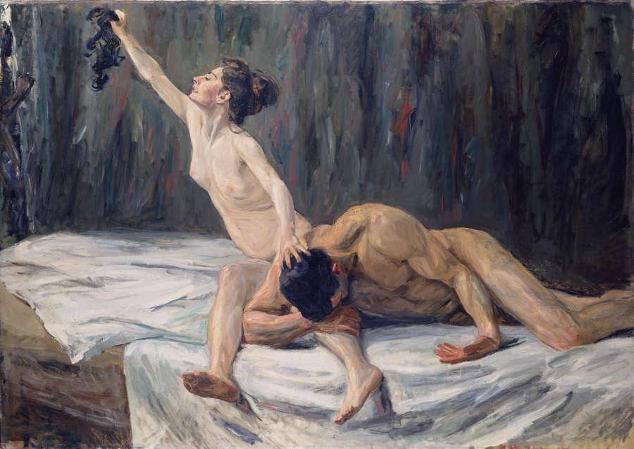 Max Liebermann, Simson und Delila, 1902, Öl/Lw, 151,2 x 212 cm (Städel Museum, Frankfurt am Main)