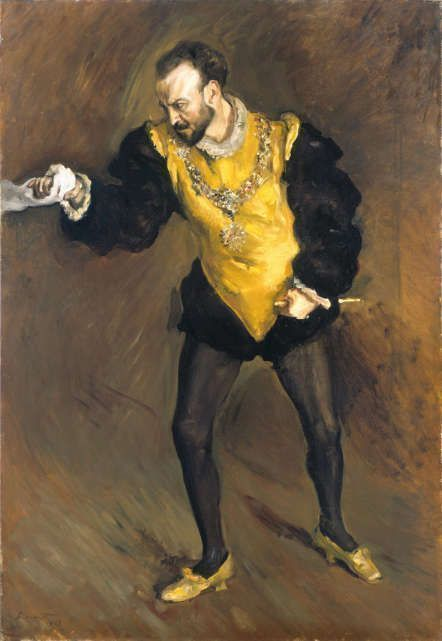 Max Slevogt, Der schwarze d'Andrade, 1903, Öl auf Leinwand, 150 x 109 cm (© Hamburger Kunsthalle / bpk Foto: Elke Walford)
