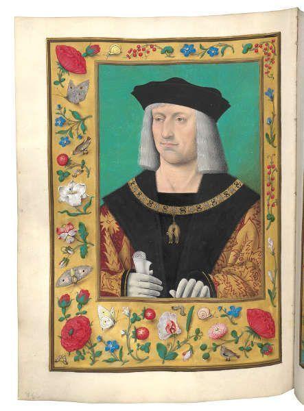 Maximilian als Souverän des Ordens vom Goldenen Vlies (© Österreichische Nationalbibliothek)
